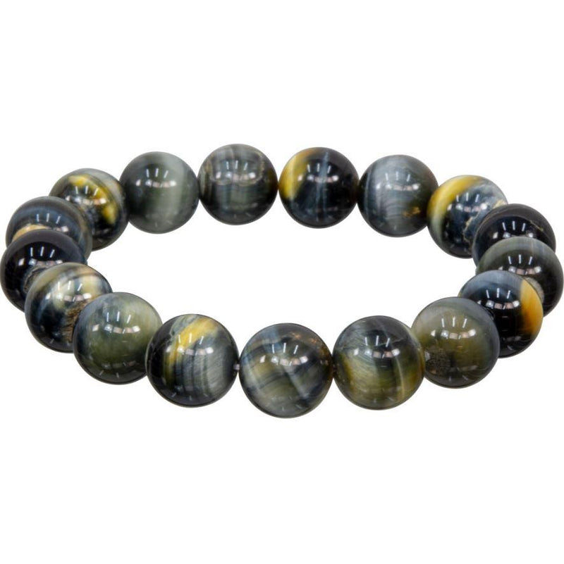Bracelet, 12mm (assorted) bead