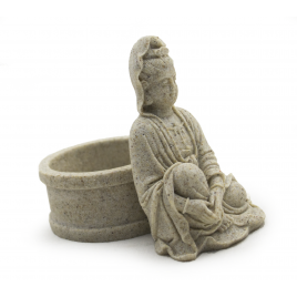 Candle Holder: Kwan Yin