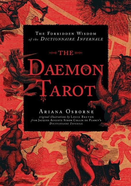 Daemon Tarot Cards: The Forbidden Wisdom of the Infernal Dictionary