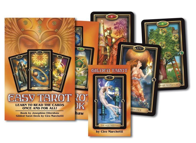 Easy Tarot Book & Deck Set