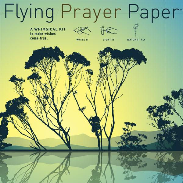 Flying Wish Paper Large 50 sheets