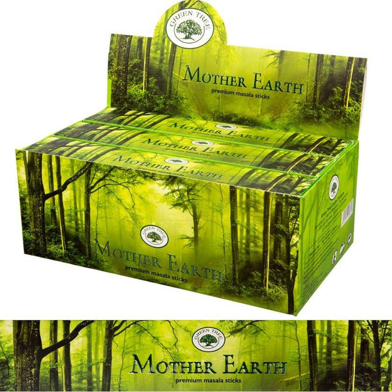 Incense, Green Tree Mother Earth 15gr