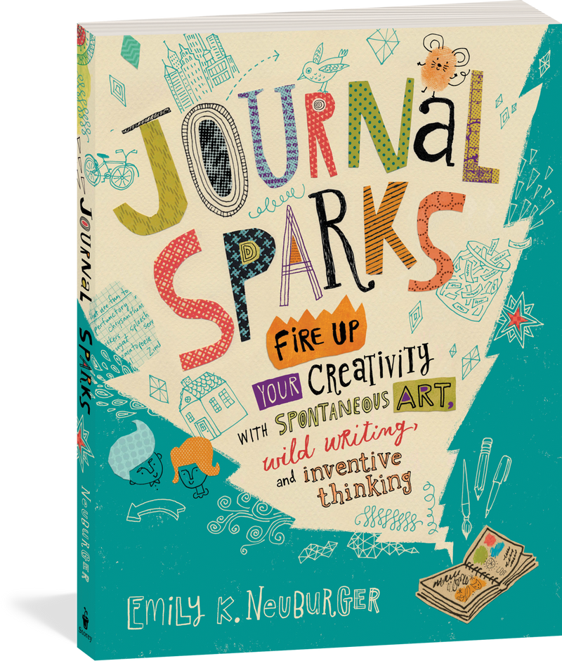 Journal Sparks (Quality Paperback) Book