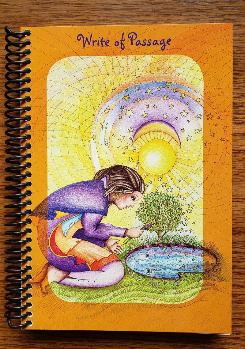 Journal, Write of Passage Spiral bound