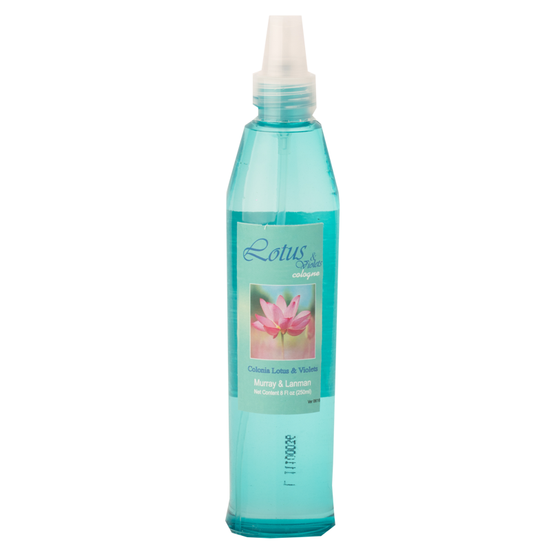 Lotus & Violet Cologne 8.45oz. (250ml) Bottle