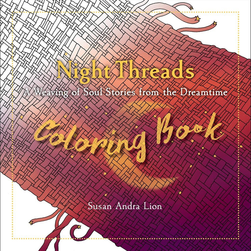 Night Threads Coloring Book