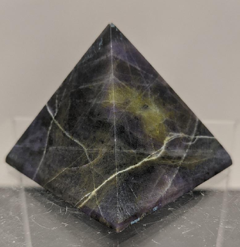 Opal/Purple Pyramid, Med