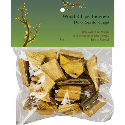 Palo Santo Wood Chips 1oz.