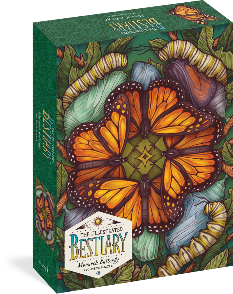 Puzzle, Illustrated Bestiary 750-Piece