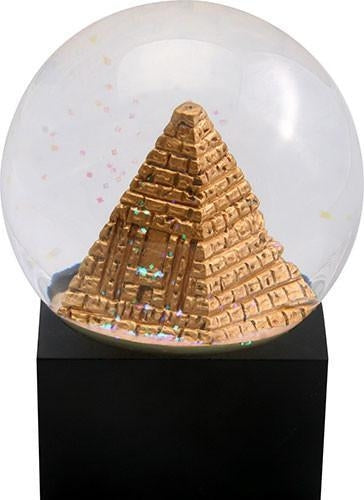 Pyramid Water Globe, LED