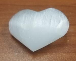 Selenite Heart 1.5-2in.