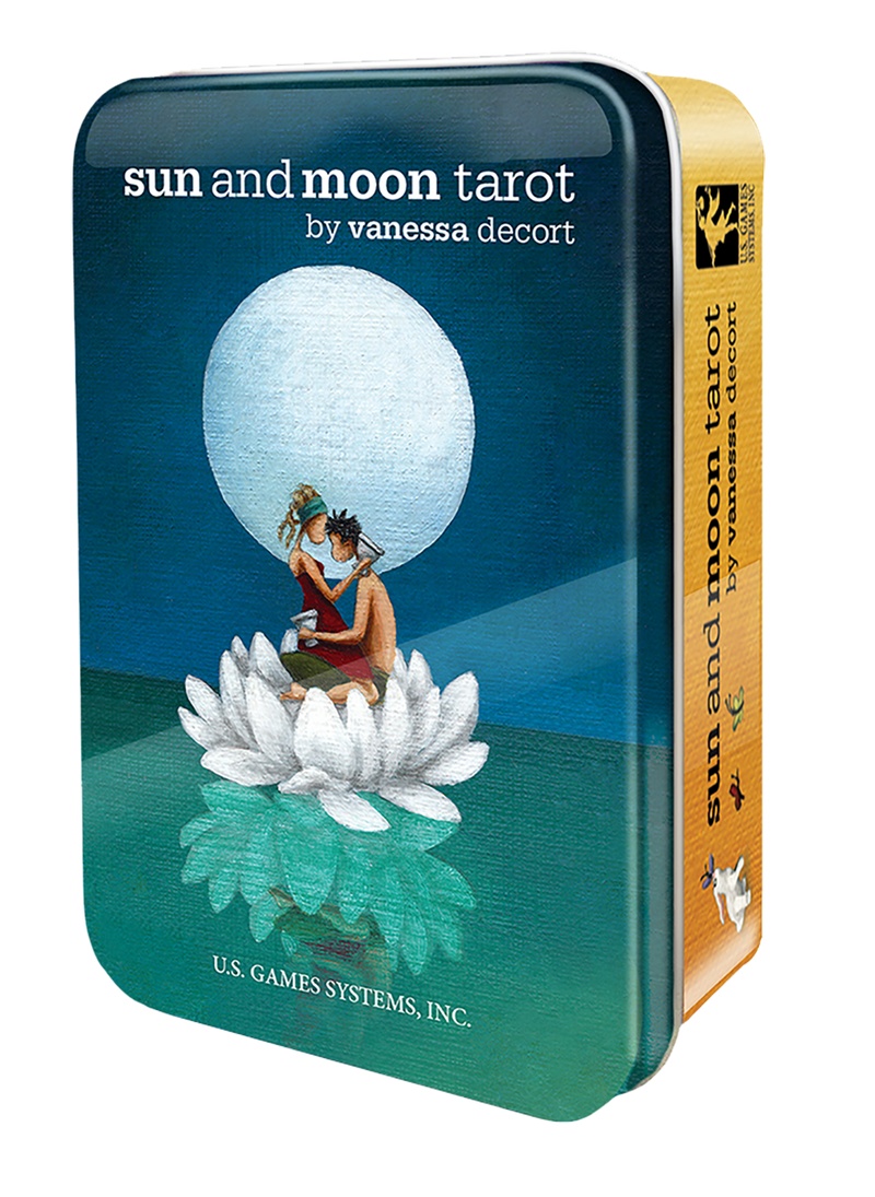 Sun & Moon Tarot in Tin