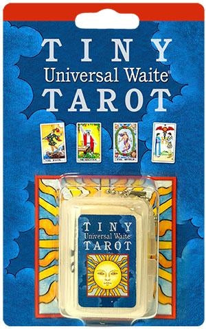 Tiny Universal Waite Tarot on Keychain