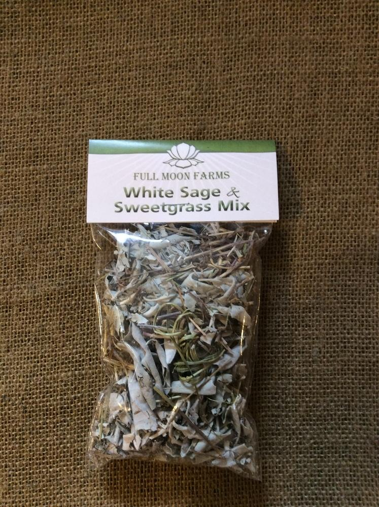 White Sage & Sweetgrass Mix 1oz. Bag