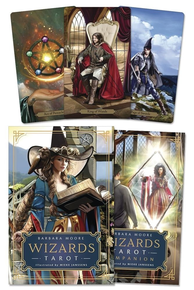 Wizards Tarot Deck/Set-Moore