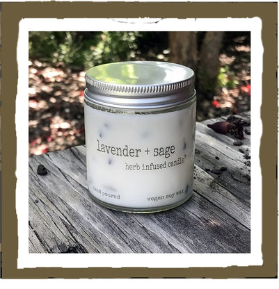Candle, Jar Herb Soy 4oz.