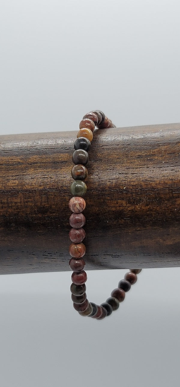 Bracelet, Power 4mm Assorted Stones