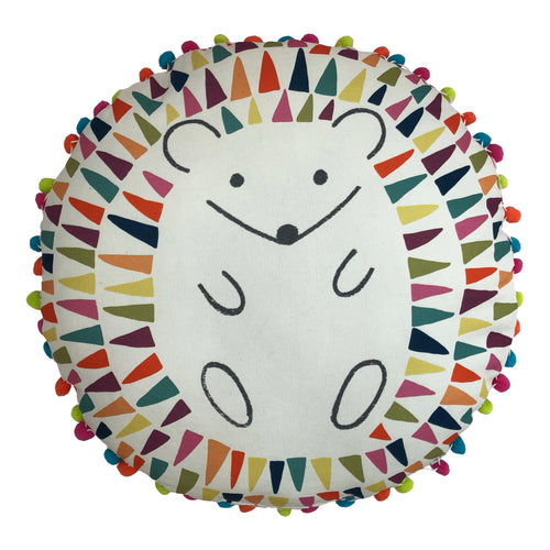 Image of the Hedgehog 770 Kids Ready Filled Cuhion | Multi | little furn.