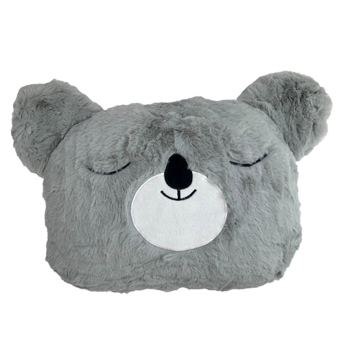 Image of the Koala Kids Ready Filled Cuhion | Grey | little furn.