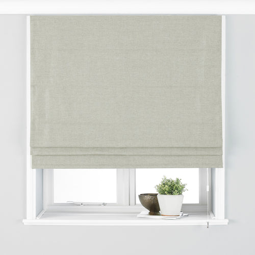 Image of the Atlantic Twill Woven Roman Blind | Natural | Paoletti