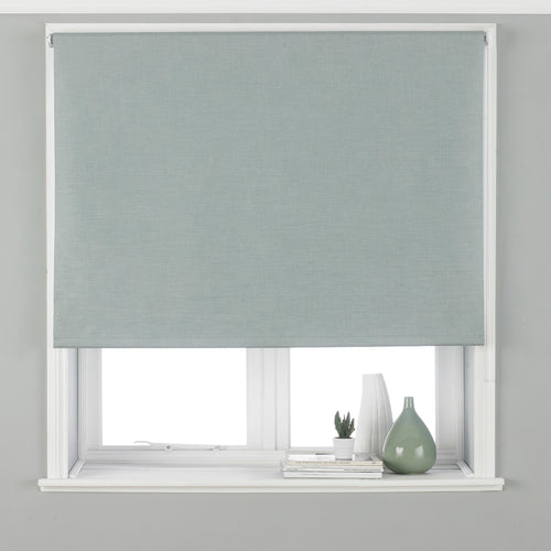 Image of the Twilight Thermal Blackout Roller Blind | Duck Egg | Essentials