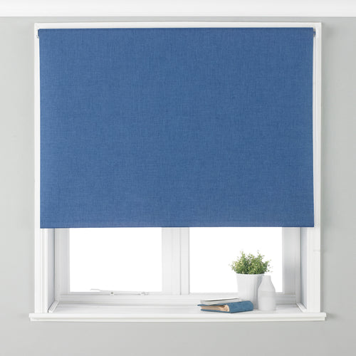 Image of the Twilight Thermal Blackout Roller Blind | Denim | Essentials