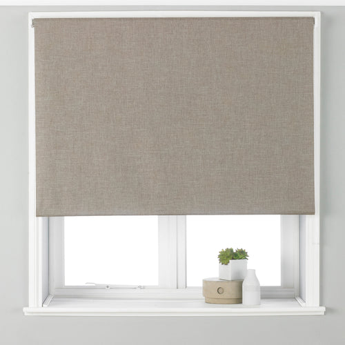 Image of the Twilight Thermal Blackout Roller Blind | Natural | Essentials