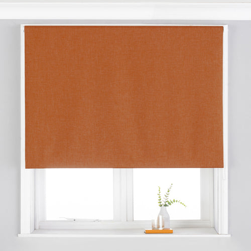 Image of the Twilight Thermal Blackout Roller Blind | Burnt Orange | Essentials
