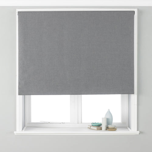 Image of the Twilight Thermal Blackout Roller Blind | Silver | Essentials