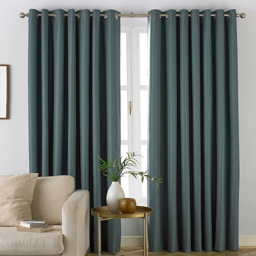 Image of the Moon Premium Thermal Blackout Eyelet Curtain | Mineral | furn.