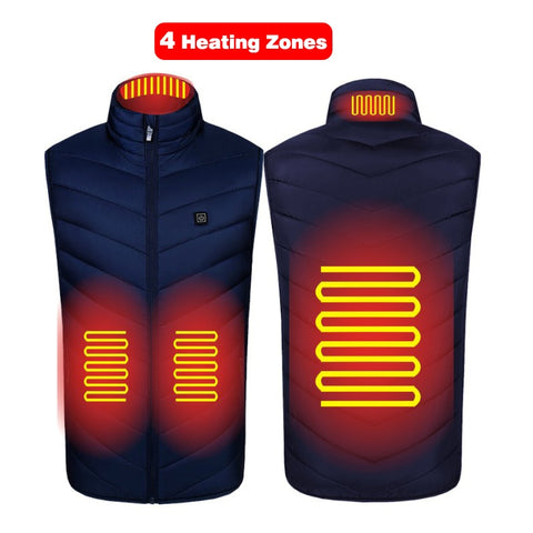 Unisex Light Winter Heated Vest