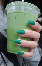 Load image into Gallery viewer, [Matte] Matcha Green Press-on Nails