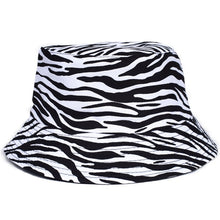 Load image into Gallery viewer, Animal Print Bucket Hat