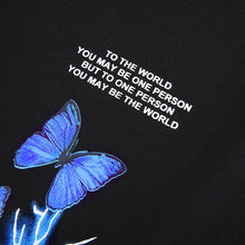 Load image into Gallery viewer, Gothic Butterfly Lightning Tshirt And Sweatpants
