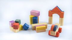 Wooden blocks|Blocs de bois