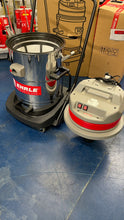 Load image into Gallery viewer, EHRLE SNT6324-S Stainless Steel Wet & Dry Vacuum 2x1200w