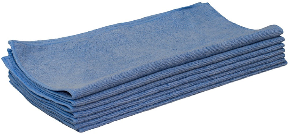 BLUE MICROFIBRE CLOTH TRADE PACK OF 10