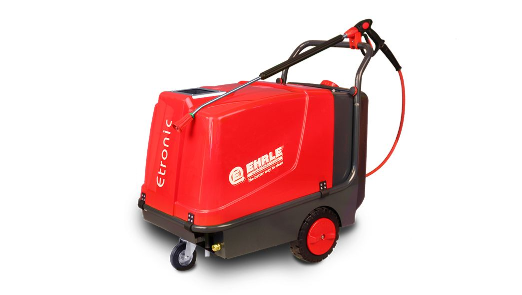 Ehrle Etronic I, Hot Water, Oil Heated, High Pressure Cleaner - Mobile