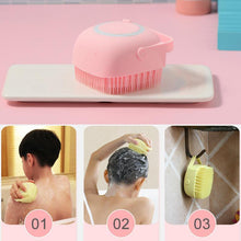 Load image into Gallery viewer, Silicone Bath Massage Soft Brush