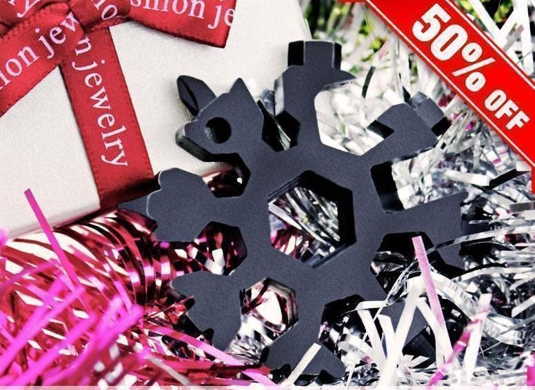Snowflake 18 in 1 Multi Tool - Sale Ends Tonight
