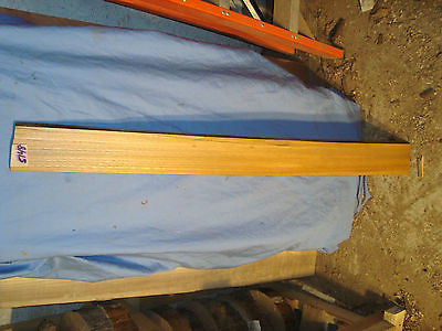 "#5148 red elm live edge slab lumber crafts turning wood 48""L 4""W 13/16""T"