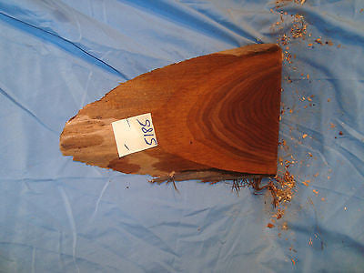 "# 5185 Black Walnut Live Edge Slab lumber craft wood 9 1/4""L 8""W 15/16""T"