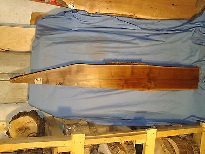 "# 4476 Black Walnut Live Edge Slab lumber craft wood 67""L 9""W 1 15/16""T"