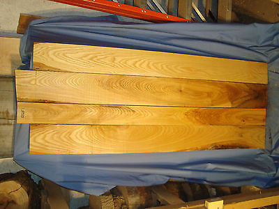 # 5025  4, white ash boards lumber crafts wood knife scales