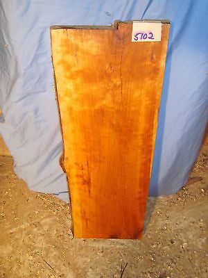 "#5102 Live Edge wild black Cherry Slab  rustic 23""L 9 3/4""W 1 7/16""T"