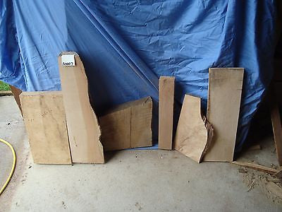 # 10007      KILN DRIED maple boards pieces and Live Edge Slab lumber