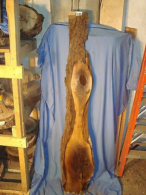 "# 4342 Black Walnut Live Edge Slab lumber craft wood 67""L 11""W 7/8""T"