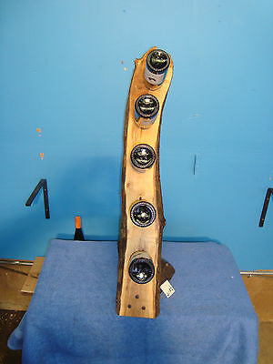 # 6182 wild apple and black walnut rustic live edge wine rack made in the USA