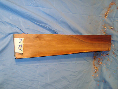 "# 5214  Black Walnut board lumber craft wood 21""L 3 3.4""W 1 5/8""T"