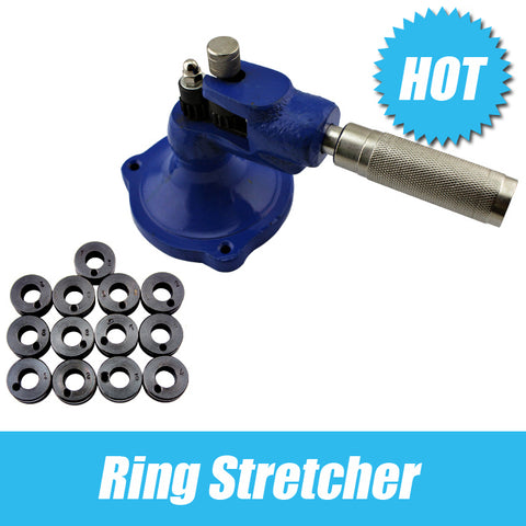 Ring Stretcher Include 13 Knurls,jewellers tool Ring Jewelry making Tools kit,Goldsmith tools,Warranty One Year